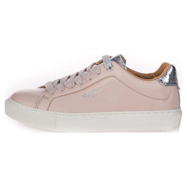 760002c8e2802 Pepe Jeans Tenisówki Damskie Adams Premium 36 Różowe - Trampki i ...