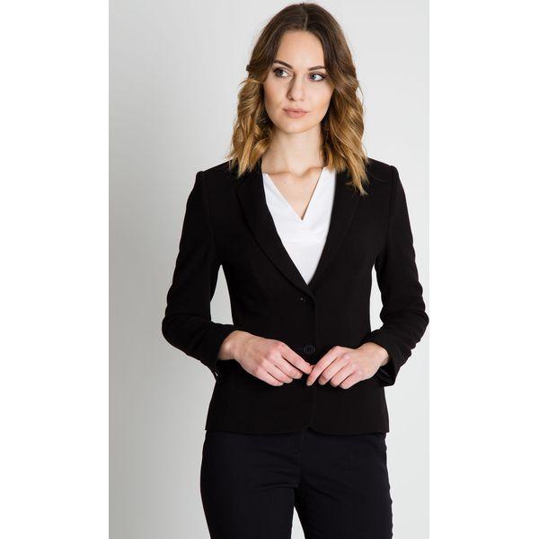 8eddc9154914e Czarny elegancki żakiet BIALCON - Marynarki i żakiety damskie marki ...