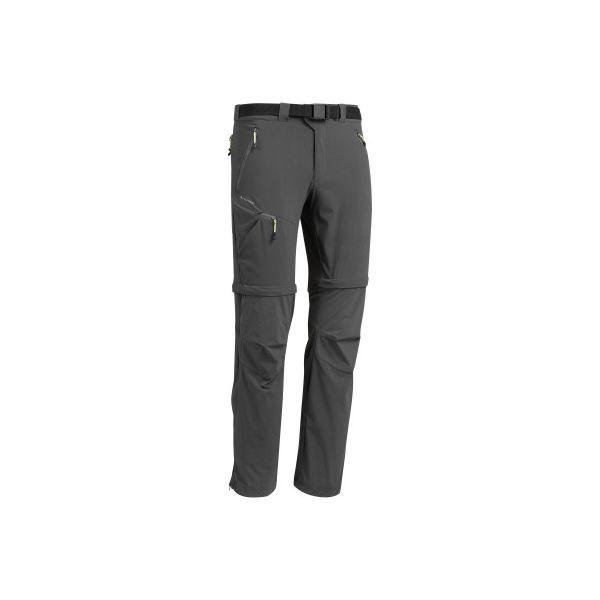f34b18e29e706a Spodnie turystyczne MH550 2 w 1 męskie - Szare spodnie materiałowe ...
