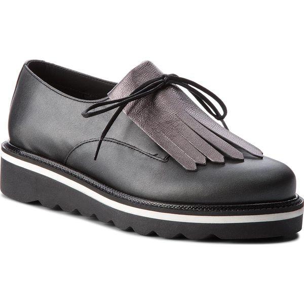 dfa35a12b7bbc Oxfordy TOMMY HILFIGER - Pearlized Leather Lace Up Shoe FW0FW02937 ...