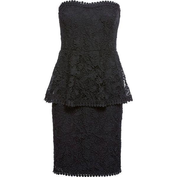 f4c1cc9db4 Sukienka koronkowa bonprix czarny - Sukienki damskie marki bonprix ...