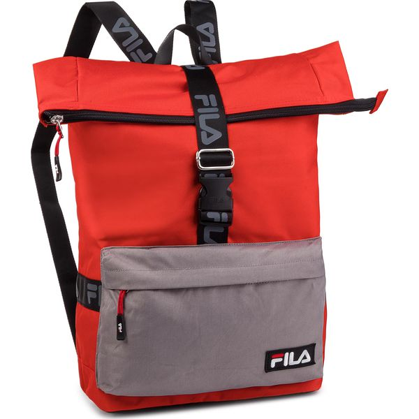 64640b0d2b107 Plecak FILA - Rolltop Backpack Örebro 685045 Fiery Red-Black Z15 ...