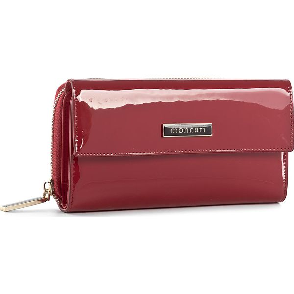 7fadb7b33311d Duży Portfel Damski MONNARI - PUR1021-005 Red - Czerwone portfele ...