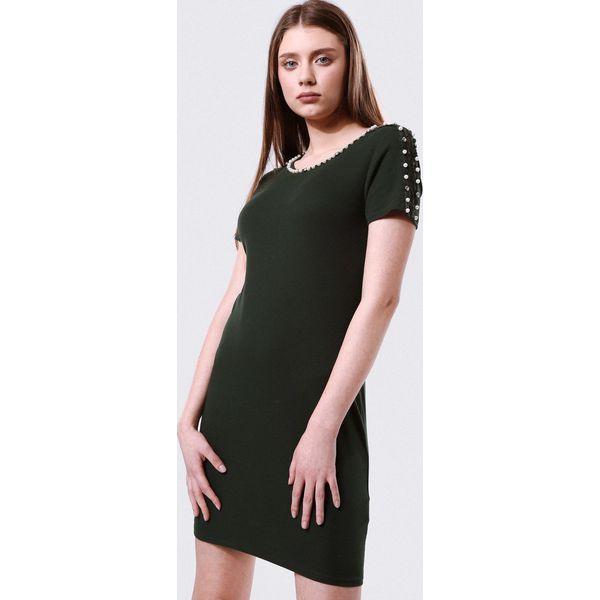 bcfd645daf Ciemnozielona Sukienka Give The Idea Of - Sukienki damskie marki ...