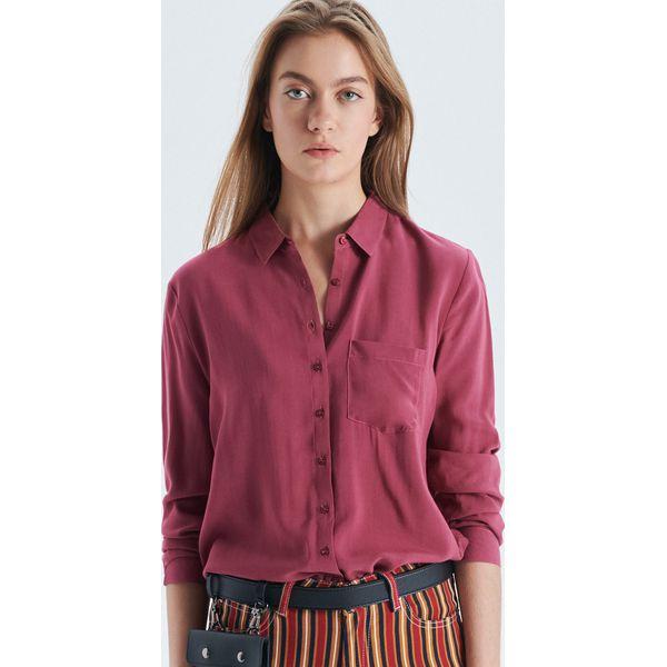 68e0e0b1c344 Koszula o klasycznym kroju - Pomarańczowy - Koszule damskie marki ...
