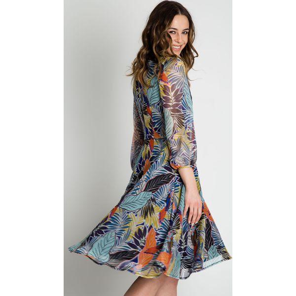 bb9c4d4028 Zwiewna sukienka z szyfonu BIALCON - Sukienki damskie marki BIALCON ...