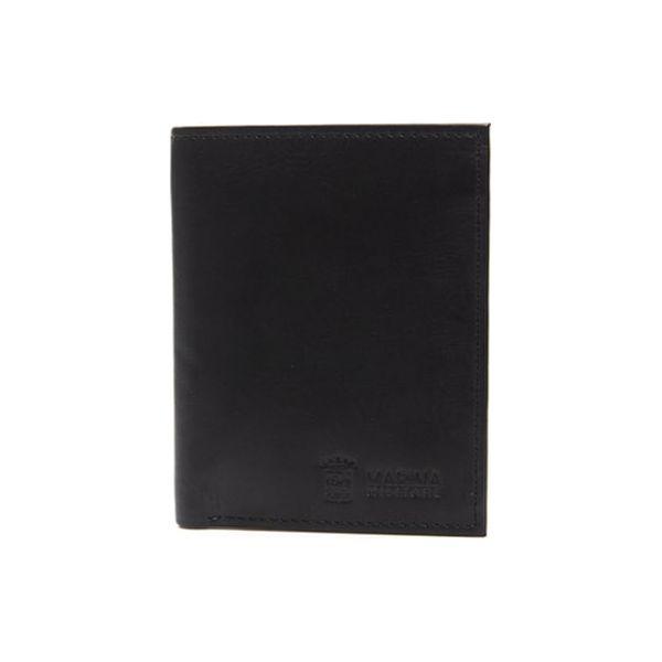 2947cb93bca88 Skórzany portfel w kolorze czarnym - (S)9,5 x (W)12 cm - Portfele ...