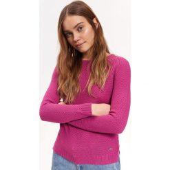 d11b7565afd218 SWETER DŁUGI RĘKAW DAMSKI Z ZAMKIEM. Swetry klasyczne damskie marki TOP  SECRET. W wyprzedaży