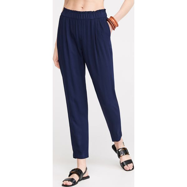af909c3878c9d1 Spodnie joggersy - Granatowy - Spodnie materiałowe damskie Reserved ...