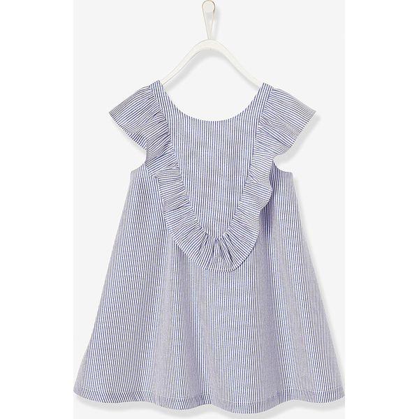 cc34354327 Sukienka w kolorze niebiesko-białym - Sukienki dziewczęce marki ...