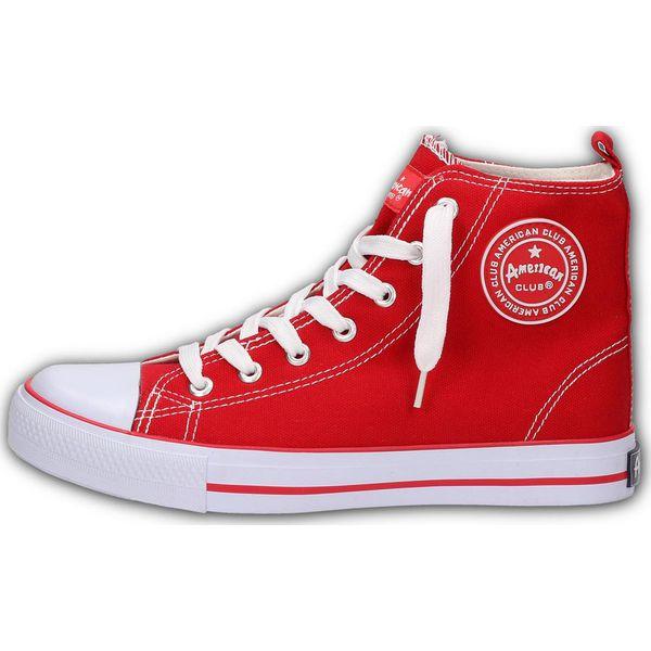 Czerwone trampki damskie AMERICAN 9120 6