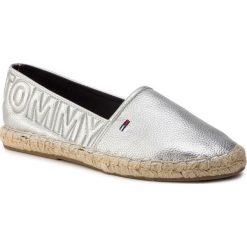 7ef1fb7728178 Espadryle TOMMY JEANS - Shiny Metallic Espadrille EN0EN00453 Silver 000.  Espadryle damskie marki Tommy Jeans