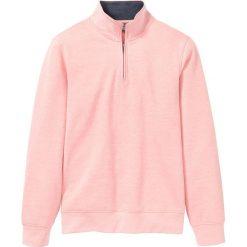 d885f07ee8d1 Bluza z zamkiem bonprix łososiowy melanż. Bluzy bez kaptura męskie marki  bonprix. Za 74.99