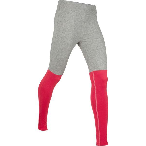 37879f64b Legginsy sportowe, długie, Level 1 bonprix jasnoszary melanż - czerwony - Legginsy  damskie marki bonprix. Za 37.99 zł. - Legginsy damskie - Spodnie i ...
