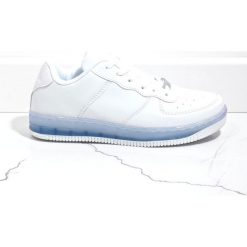 Białe obuwie damskie Kolekcja zima 2020 Sklep Super Express