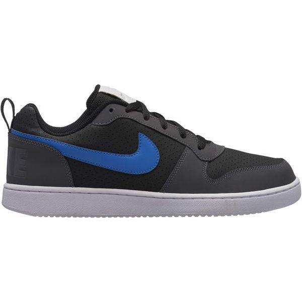 wielka wyprzedaż uk wysoka moda najnowsza kolekcja Nike Buty Court Borough Low Shoe Black Blue Nebula-Dark Grey-White 44,5