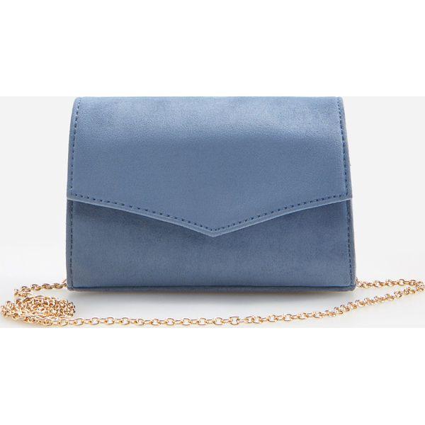Mała torebka wieczorowa Niebieski