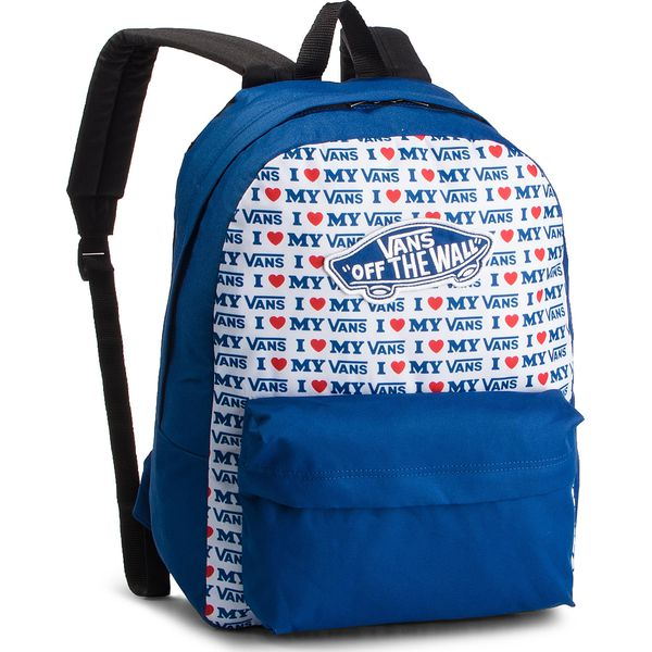 f6bcdee86631d Plecak VANS - Realm Backpack VN0A3UI6UWF1 Blue/Navy - Plecaki ...