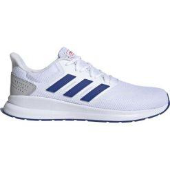 Białe obuwie damskie Adidas, na fitness i siłownię