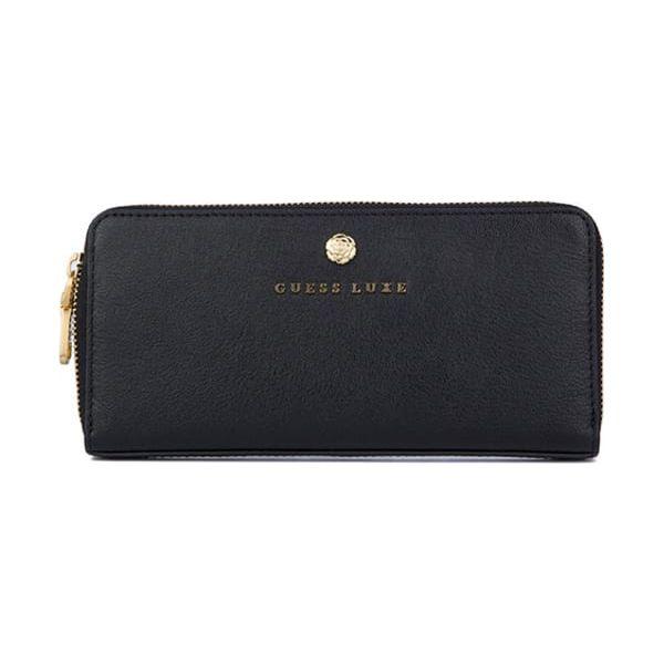 d19631ee2bc80 Skórzany portfel w kolorze czarnym - (S)20,5 x (W)10 x (G)2 cm ...