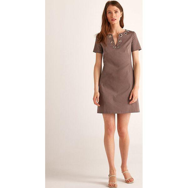 333e027f9 Sukienka w kolorze brązowym - Brązowe sukienki damskie marki Rodier ...