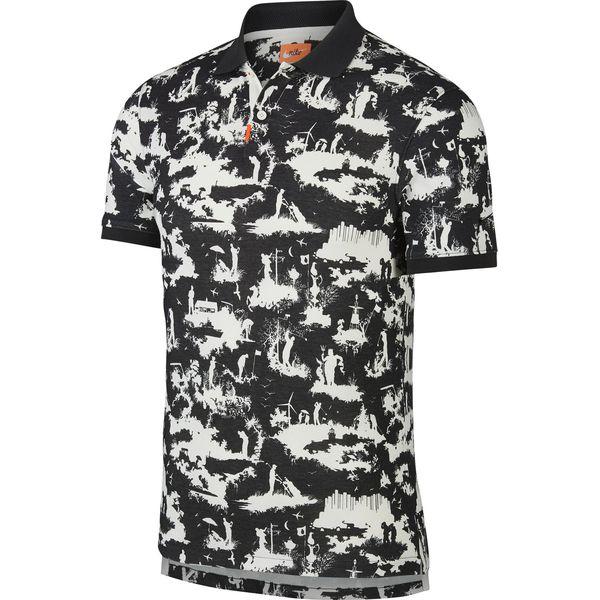 Nike Polo Koszulka Czarny