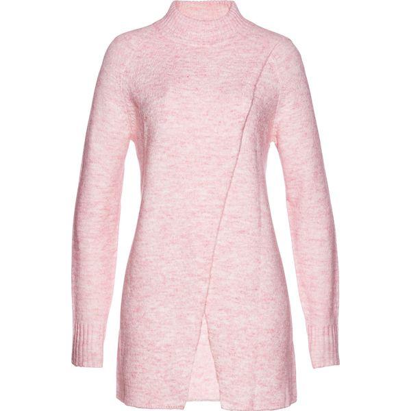 cdddfc73872d87 Długi sweter bonprix pastelowy jasnoróżowy melanż - Golfy damskie bonprix.  Za 89.99 zł. - Golfy damskie - Swetry damskie - Odzież damska - Kobieta -  Sklep ...
