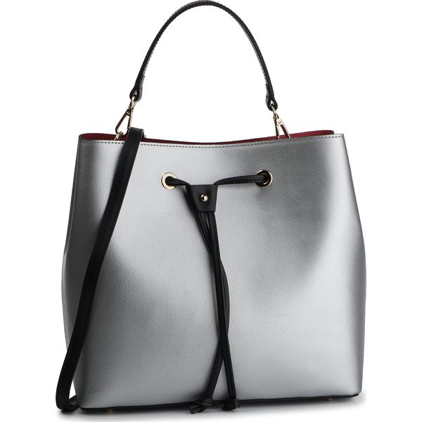 642ef806241f1 Torebka CREOLE - K10617 Srebrny - Szare torebki klasyczne damskie ...