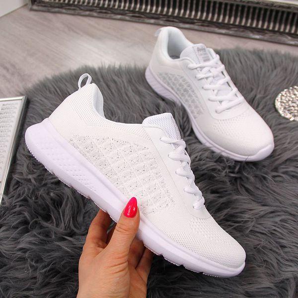 Buty sportowe damskie białe American Club biały