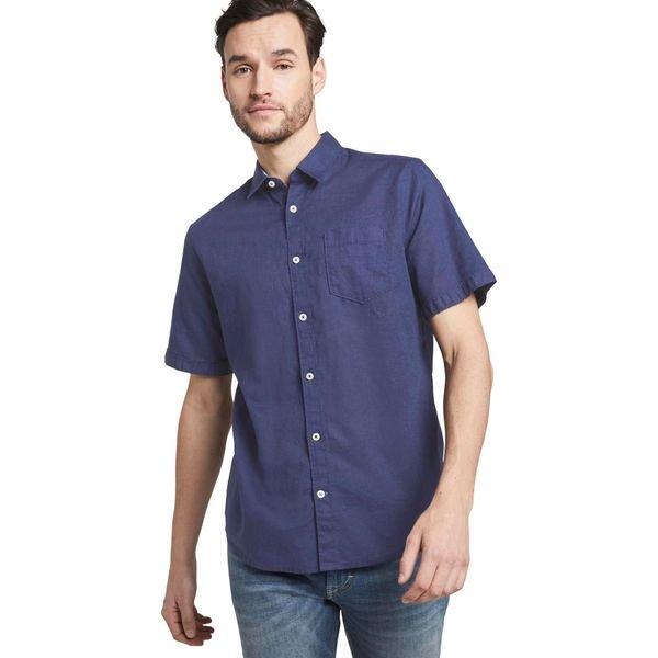 Tom Tailor Koszula Niebieski Niebieskie koszule męskie Tom  aTNTg