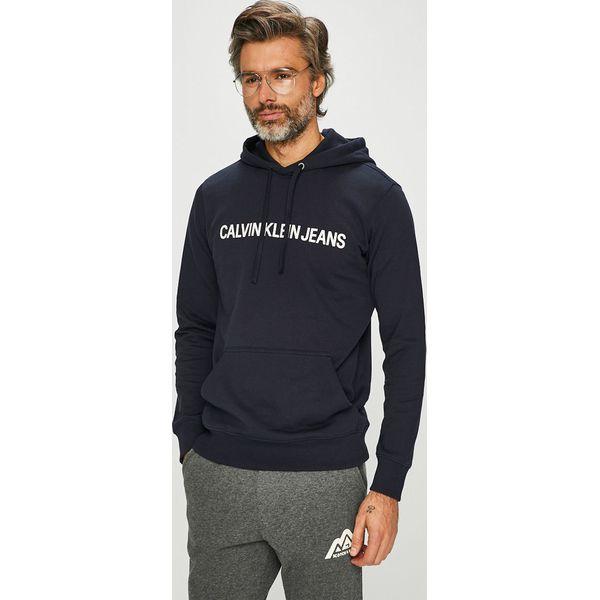 3f0666bb266c3 Calvin Klein Jeans - Bluza J30J309528 - Bluzy z kapturem męskie marki  Calvin Klein Jeans. W wyprzedaży za 279.90 zł. - Bluzy z kapturem męskie -  Bluzy i ...