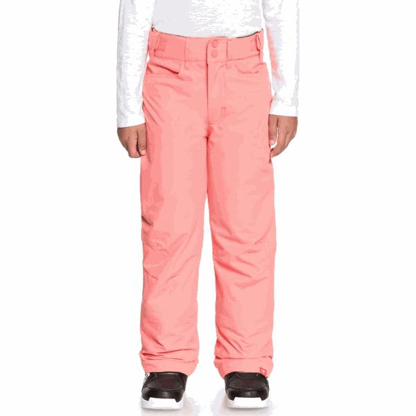 ROXY spodnie dziewczęce Backyard 140 różowe
