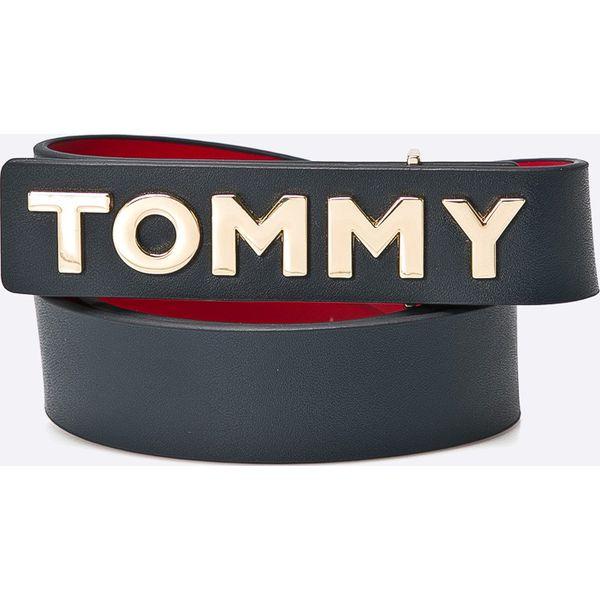 594ee34f7435c Tommy Hilfiger - Pasek skórzany - Paski damskie marki Tommy Hilfiger. W  wyprzedaży za 259.90 zł. - Paski damskie - Akcesoria damskie - Kobieta -  Sklep Super ...