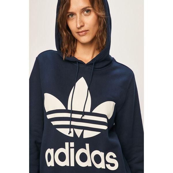 adidas bluzy z kapturem damska