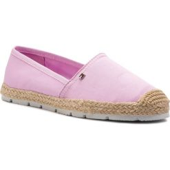 977f966d6e458 Espadryle TOMMY HILFIGER - Basic Sporty Flat Espadrille FW0FW04041 Pink  Lavender 518. Espadryle damskie marki