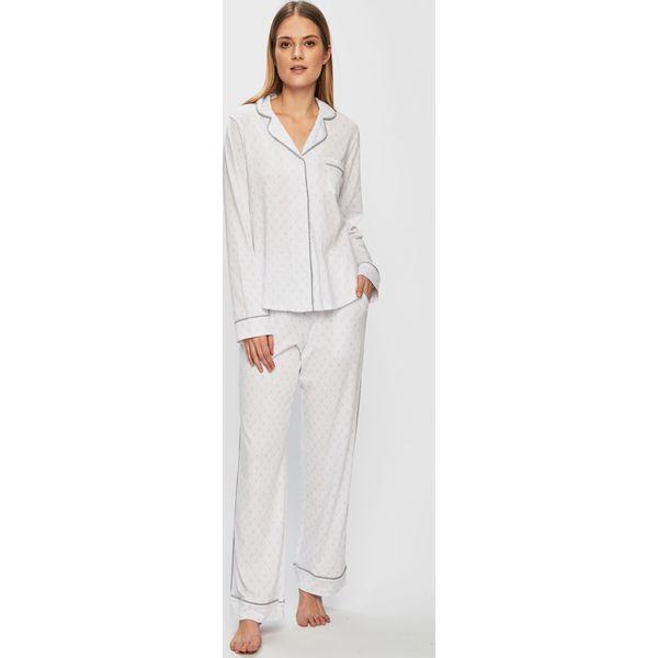 9515e2b59124bd Dkny - Piżama - Białe piżamy damskie DKNY, l, bez wzorów, z bawełny ...