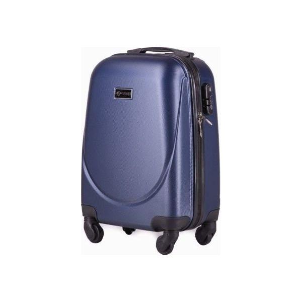 248512481b398 Solier Walizka podróżna stl310 granatowa r. XS - Szare walizki marki ...