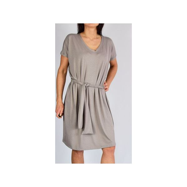 d6dc640015 ANA - sukienka   beż - Sukienki damskie marki Collibri. Za 129.00 zł ...