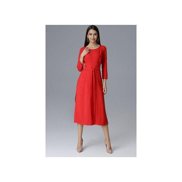8ef2622951 Sukienka M631 Czerwony - Sukienki damskie marki Figl. Za 229.00 zł ...