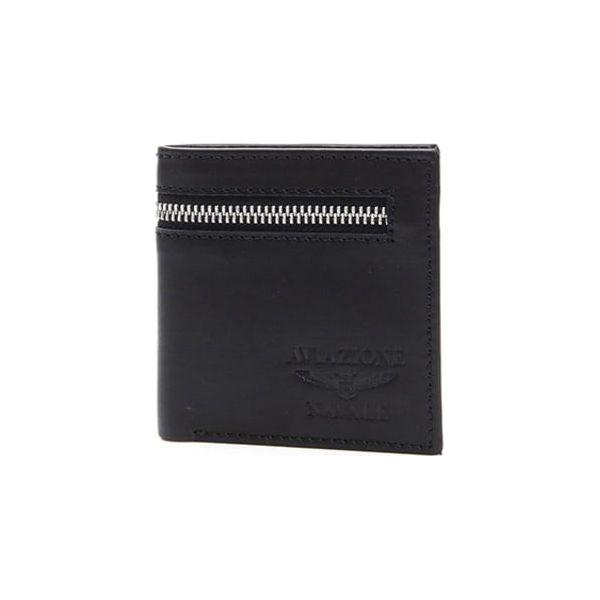 ec749f69ecfc7 Skórzany portfel w kolorze czarnym - (S)10 x (W)10 cm - Portfele ...