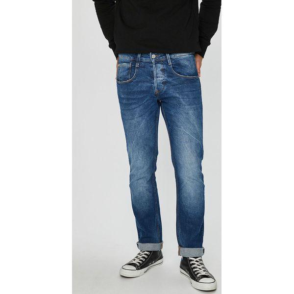 6d764b57bda97 Guess Jeans - Jeansy Vermont - Jeansy męskie marki Guess Jeans. W wyprzedaży  za 249.90 zł. - Jeansy męskie - Spodnie męskie - Odzież męska - Mężczyzna  ...