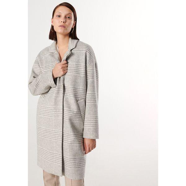 Płaszcz w kratę oversize Reserved nowy w Odzież wierzchnia