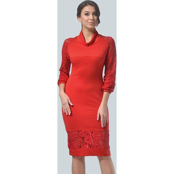 2d5330a15b Sukienka w kolorze czerwonym - Czerwone sukienki damskie marki Lila ...
