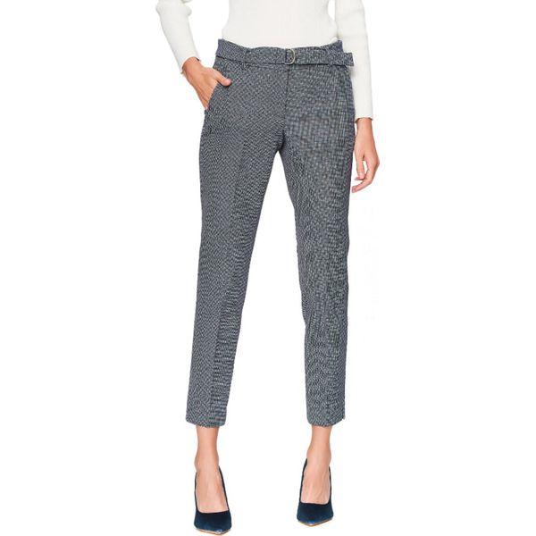 b6f7b582c8 Spodnie w kolorze szarym - Spodnie materiałowe damskie marki Tatuum ...