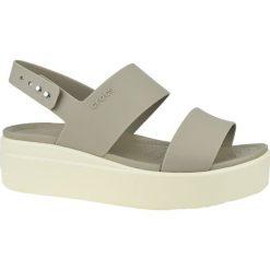 Crocs Brooklyn Low Wedge 206453 15W sandały sportowe damskie brązowe 3839