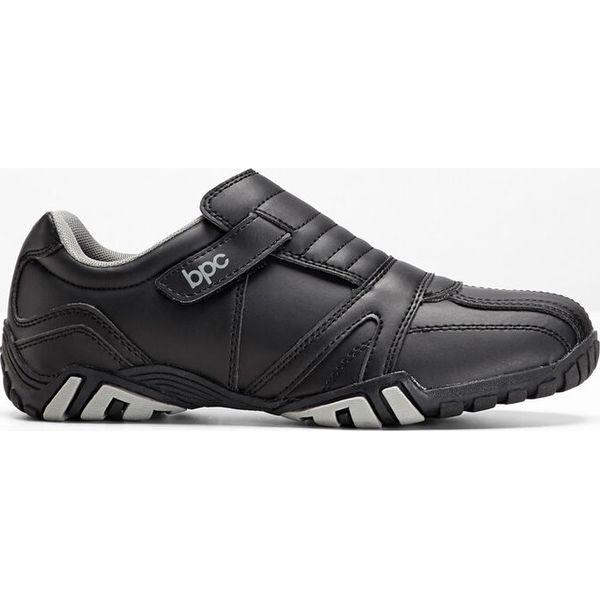 Buty wsuwane bonprix czarny