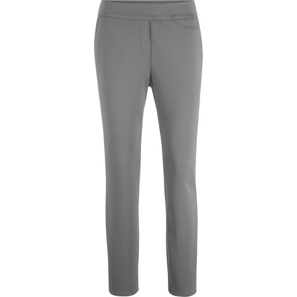 afb30fc5e0d917 Spodnie z gumką w talii bonprix dymny szary - Spodnie materiałowe ...