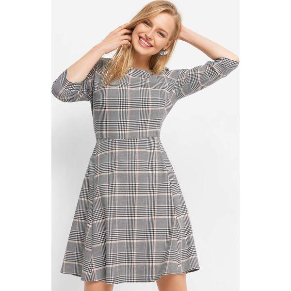 6632ea6054 Rozkloszowana sukienka w kratę - Sukienki damskie marki ORSAY. Za ...