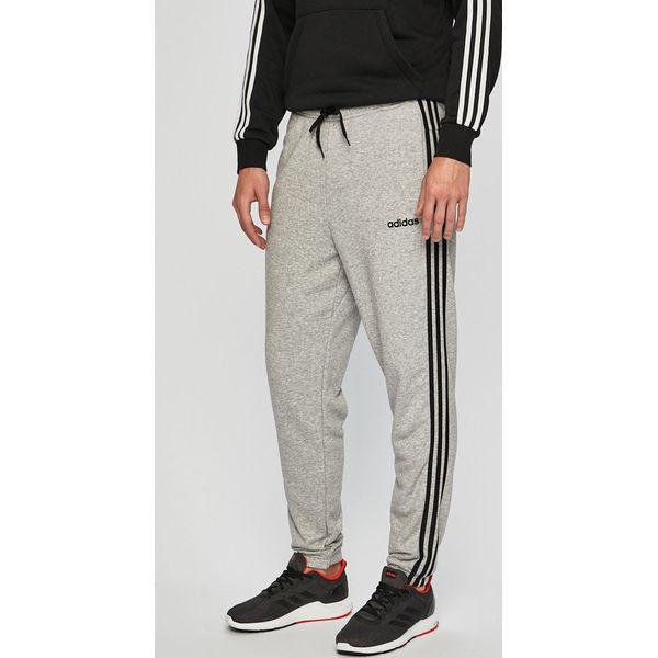 Spodnie męskie dresowe Adidas szare