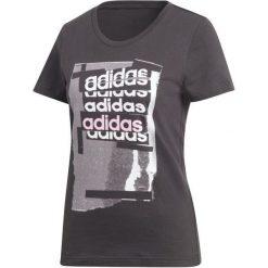 7dd75d51ce Bluzki i topy sportowe damskie marki Adidas - Kolekcja lato 2019. Adidas  Koszulka Damska Linear Tee I  Black S. Bluzki sportowe damskie marki Adidas.